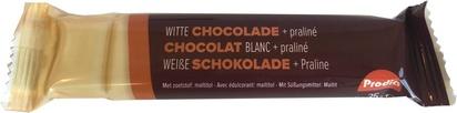 Prodia bar chocolat blanc avec praliné 35g x 20