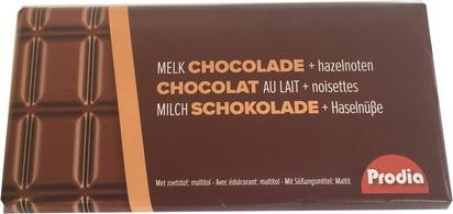 Prodia chocolat lait et noisettes 85g
