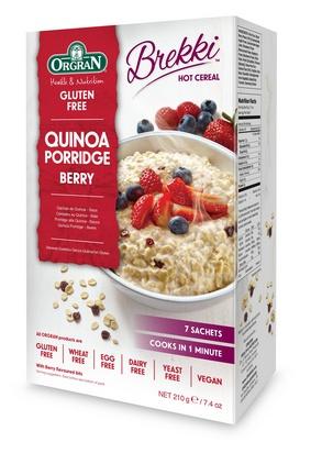 Orgran céréals au quinoa-baie  (7port) 210g