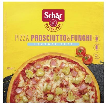 Schär Pizza Prosciutto & Funghi 335g s lactose