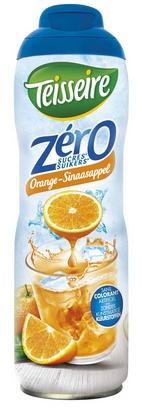 Teisseire zéro 0% de sucre orange 60cl