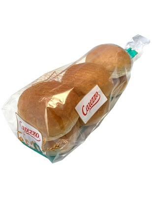 Carezzo petit pain blanc 50g x 6 surgelé