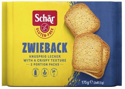 Schär Zwieback biscottes 175g