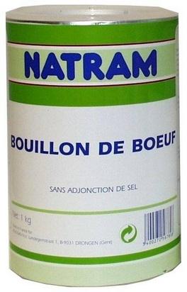Natram bouillon de boeuf 1kg