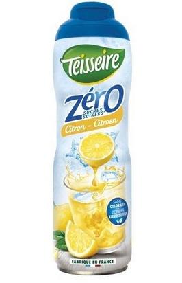 Teisseire zéro 0% de sucre citron-citron vert 60cl