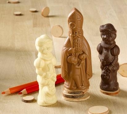 Revogan Sint melk Piet puur en wit hol 165g x 12