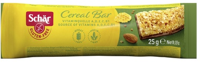 Schär barre aux céréales avec chocolat 25g