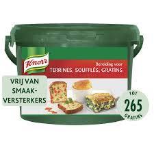 Knorr préparation terrines, soufflés, gratin 3,2kg