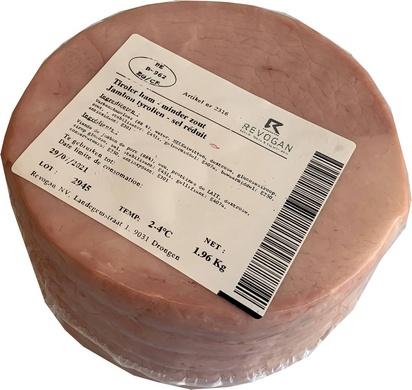 Revogan jambon tiroler moins sel 2,2kg
