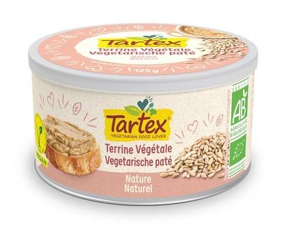 Tartex pâté naturel bio 125g