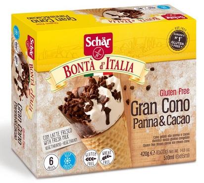 Schär Bonta d'Italia Gran Cono 420g  surgelé