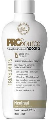 PROSource Nocarb neutre 887ml