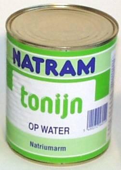 Natram thon au naturel 833g