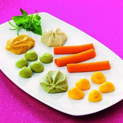 Findus timbales s/morceaux assor légumes surgelé