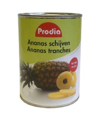 Prodia ananas en tranches 565g