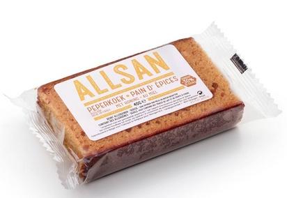 Allsan pain d'épice au miel 40g x 108