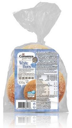 Consenza petit pain blanc 320g (4x80g) surgelé