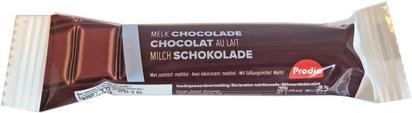 Prodia barres de chocolat au lait 18,5g x 40