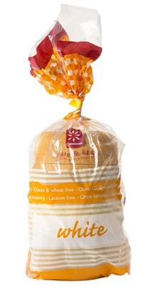 Consenza pain blanc en tranches 750g surgelé