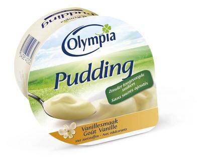 Olympia pudding goût vanille 100g x 24 édulcoré