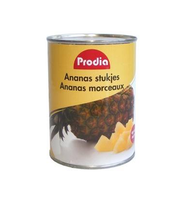 Prodia ananas en morceaux 565g