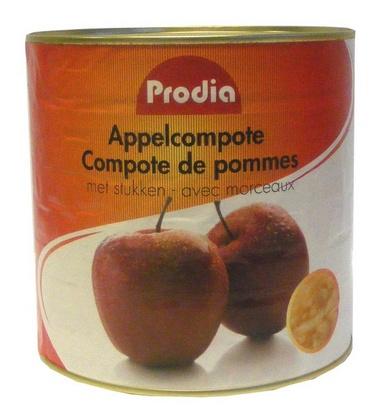 Prodia compote de pommes 2,55kg