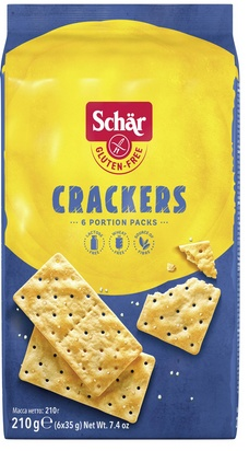 Schär crackers 210g (6x35g)