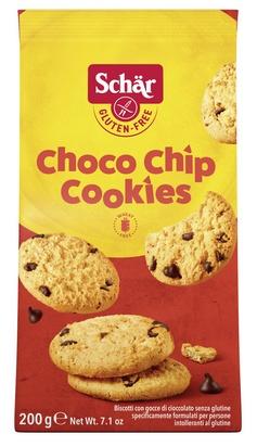 Schär choco chip cookies 200g