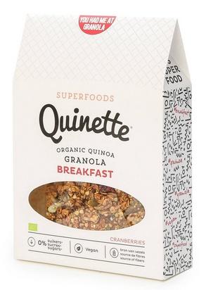 Quinette granola breakfast bio 250g