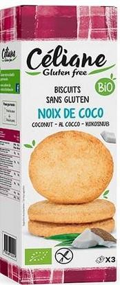 Céliane sablés noix de coco bio 3px3 150g