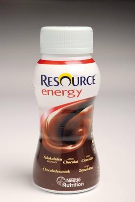 Resource energy drink chocolat 200ml x 24