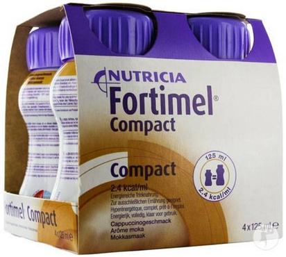 Fortimel Compact moka 125ml x 24