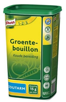 Knorr bouillon de légumes pauvre en sodium 1,2kg