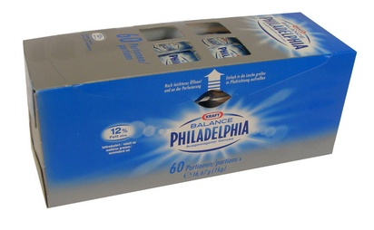 Philadelphia balance 16,66g x 60