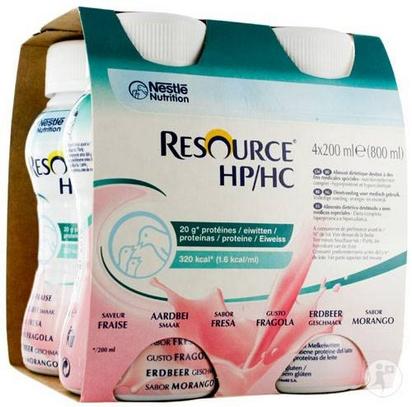 Resource HP HC fraise 200ml x 24
