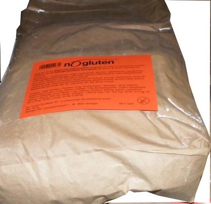 Nogluten mélange panifiable plus 25kg