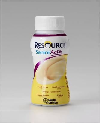 Resource senior activ vanille 200ml x 24