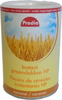Prodia flocons de céréales inst caramel HP 780g éd