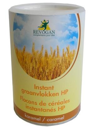 Revogan flocons de céréales inst. caramel HP 780g