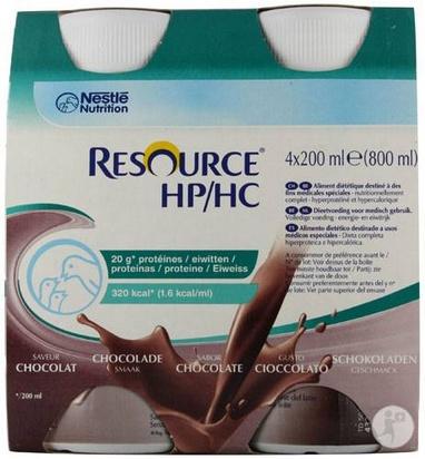 Resource HP HC chocolat 200ml x 24